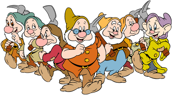 names of the seven dwarfs