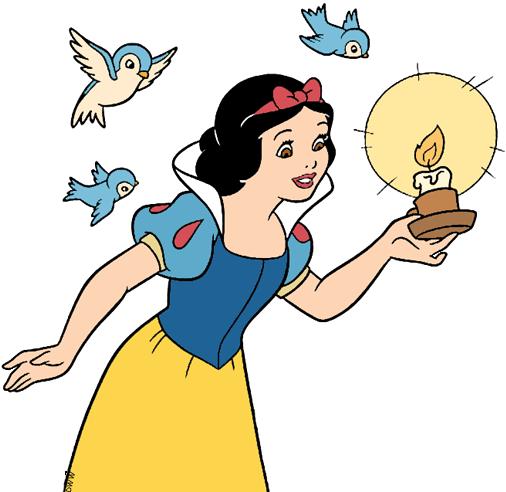 Snow White Clip Art 2 Disney