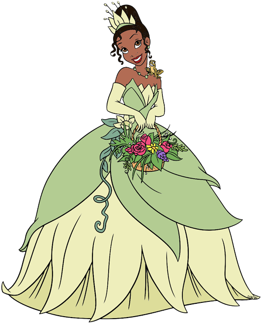 The Princess and the Frog Clip