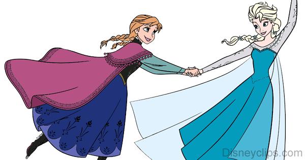 Anna Clip Art from Frozen | Disney Clip Art Galore