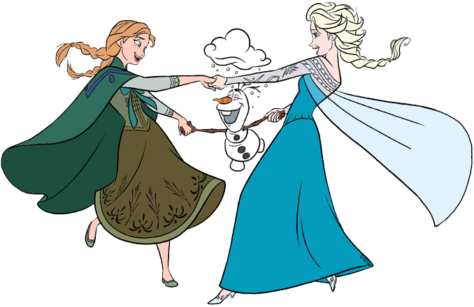 Frozen Group Clip Art Disney Clip Art Galore