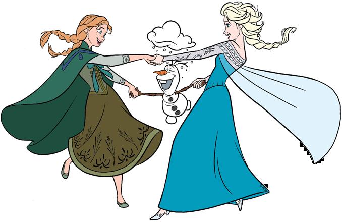 Frozen Group Clip Art Disney Clip Art Galore