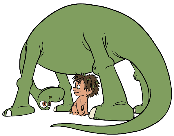 The Good Dinosaur Clip Art Disney