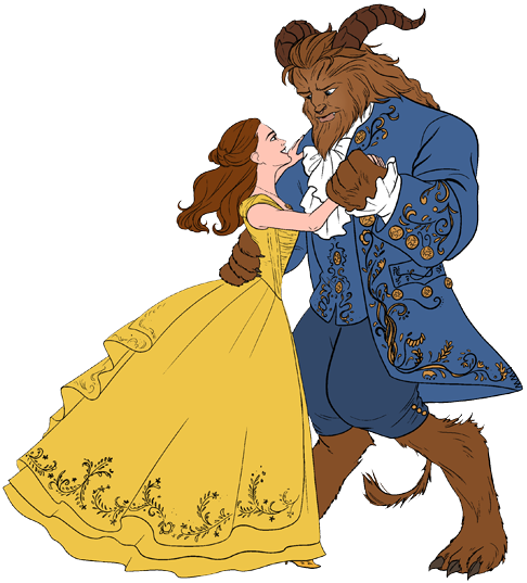 Live Action Beauty And The Beast Clip Art