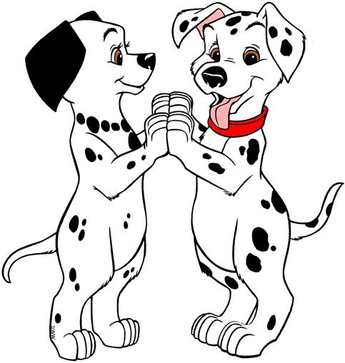 101 Dalmatians Puppies Clip Art