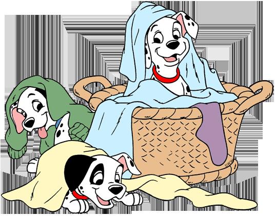 101 dalmatians rolly clipart