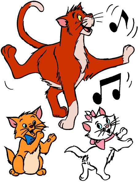The Aristocats Clip Art Disney Clip Art Galore
