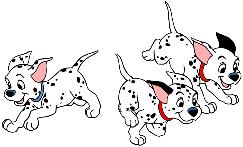 101 Dalmatians Puppies Clip Art Disney Clip Art Galore