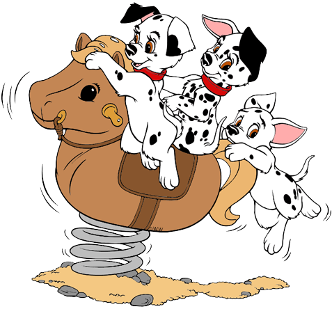 101 Dalmatians Puppies Clip Art 6 Disney Clip Art Galore