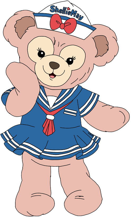 Duffy and Friends Clip Art Disney