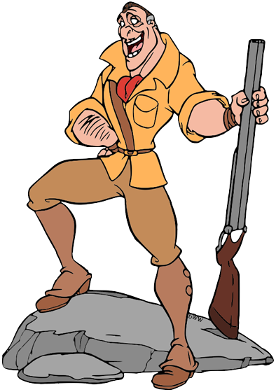 Tarzan's Clayton Clip Art | Disney Clip Art Galore