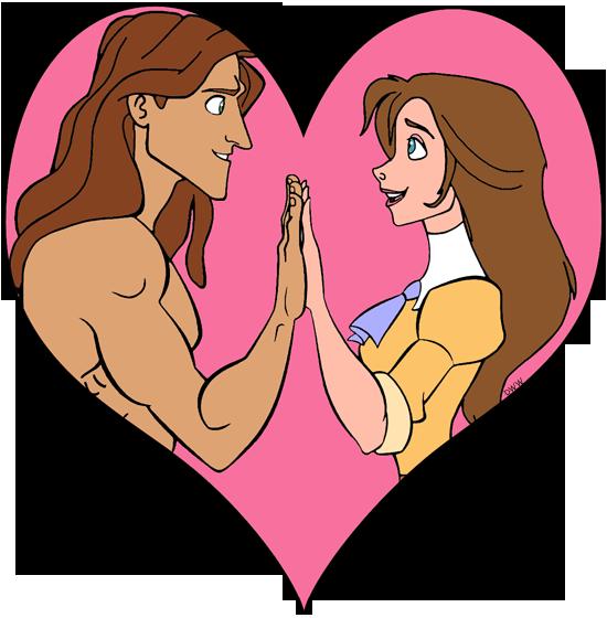Tarzan And Jane Clip Art Disney Clip Art Galore