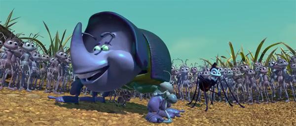 A Bug's Life - The Disney and Pixar Canon | Disneyclips.com