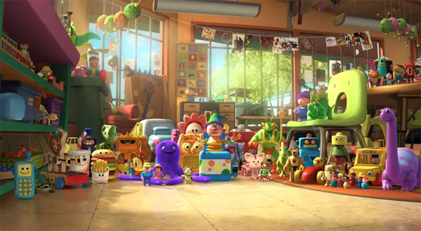 Disney Toy Story 3 Day Care Dash : Toy story disney movies