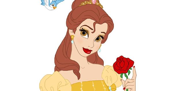 Belle Fancy Dress Up Game Disney Princess Beauty Parlour