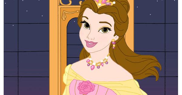 Belle Fancy Dress Up Game 2 Disney Princess Beauty Parlour