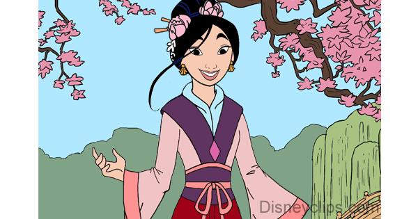 Mulan Doll Dress Up Game Disney Princess Beauty Parlour