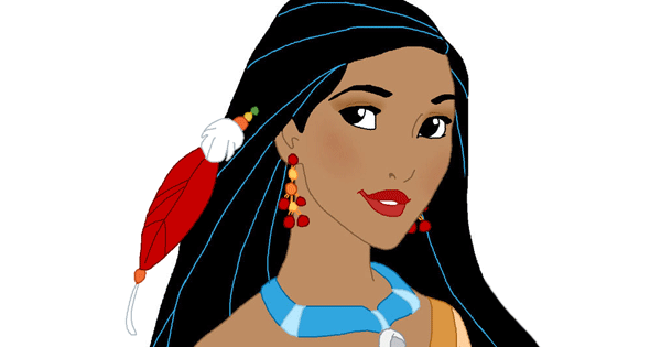 Pocahontas Makeup Medley Game 2