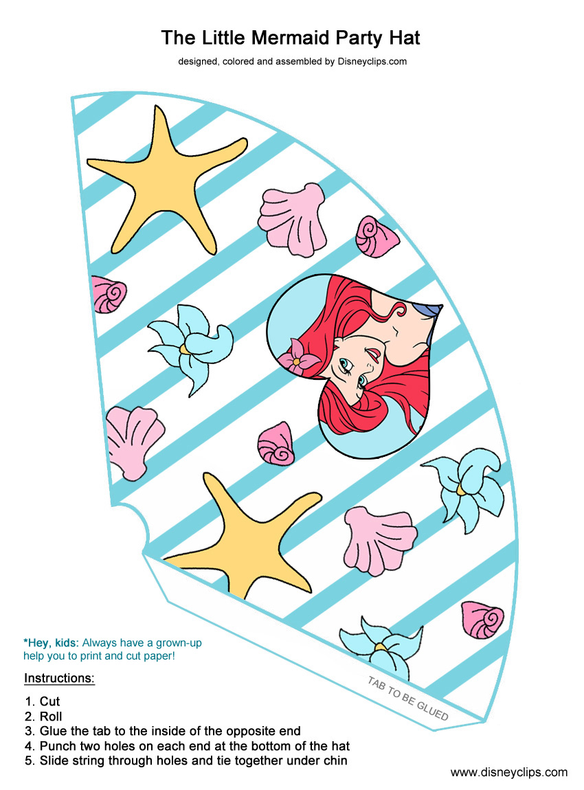 Disney The Little Mermaid Printables Disney S World Of