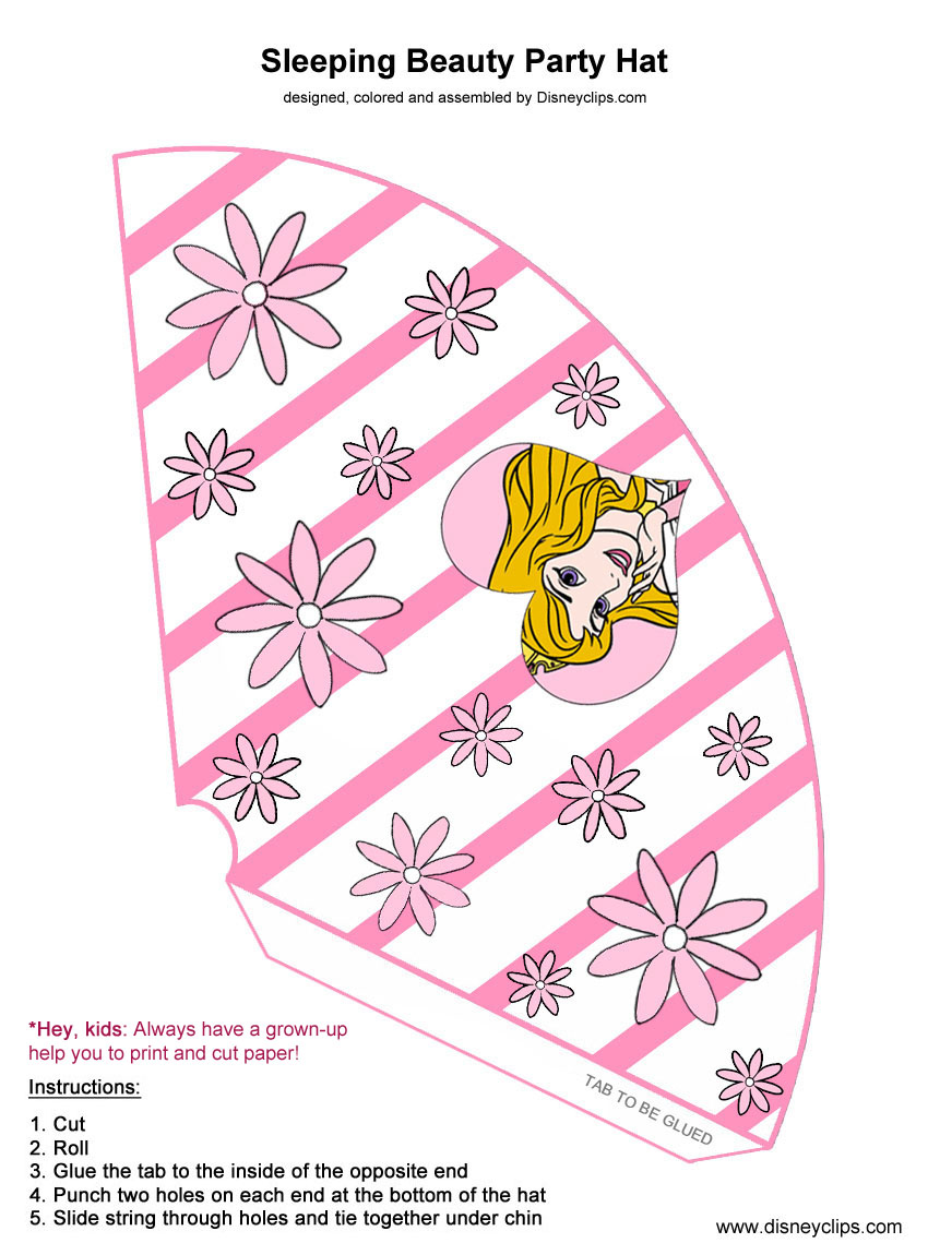 Disney Sleeping Beauty Printables
