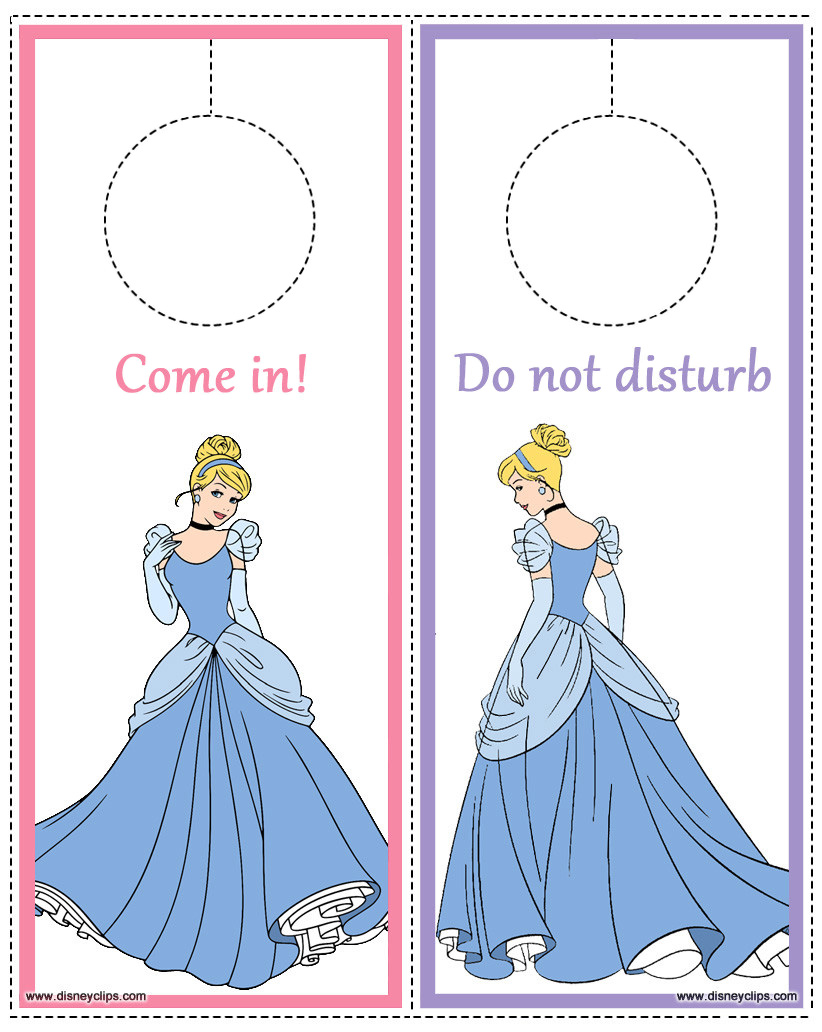 Disney Princess Cinderella Printables Disneyclips Com