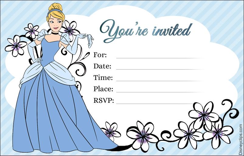 Disney Princess Cinderella Printables Disneyclips Com