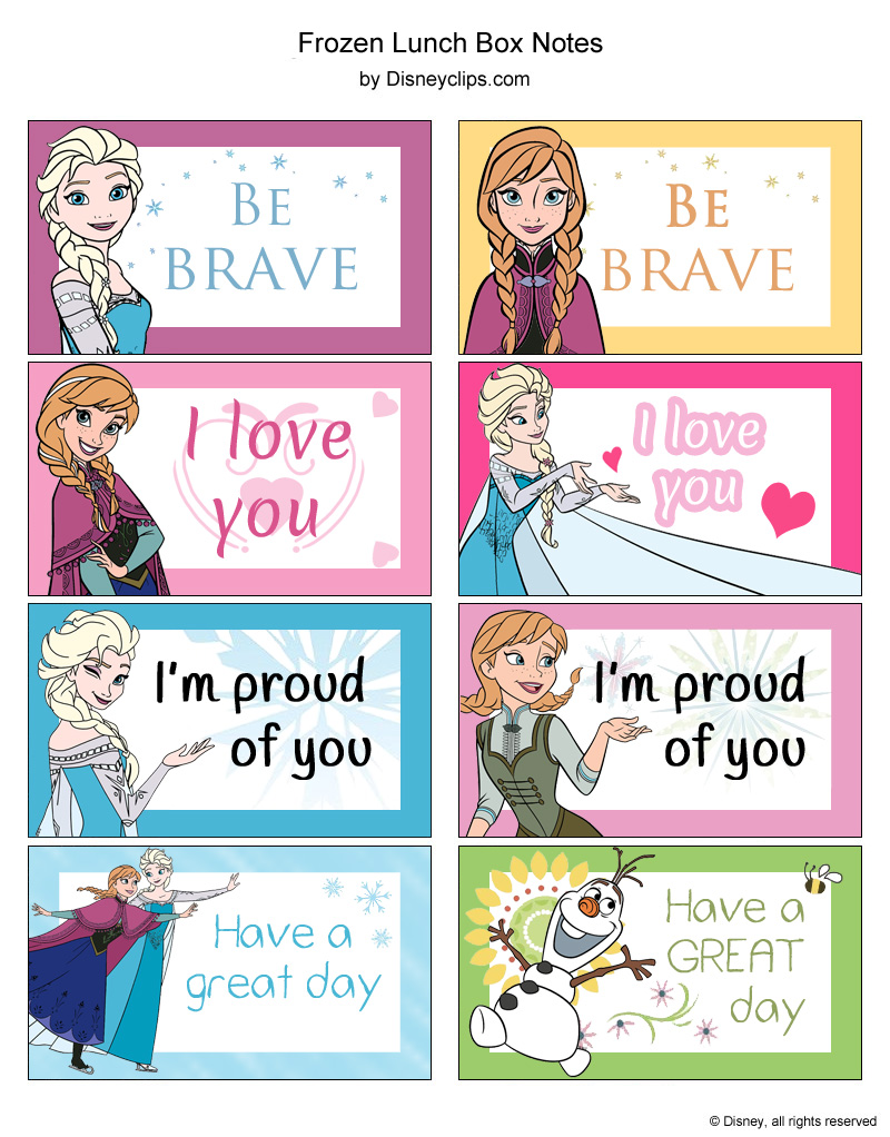 Disney S Frozen Printables Disneyclips Com