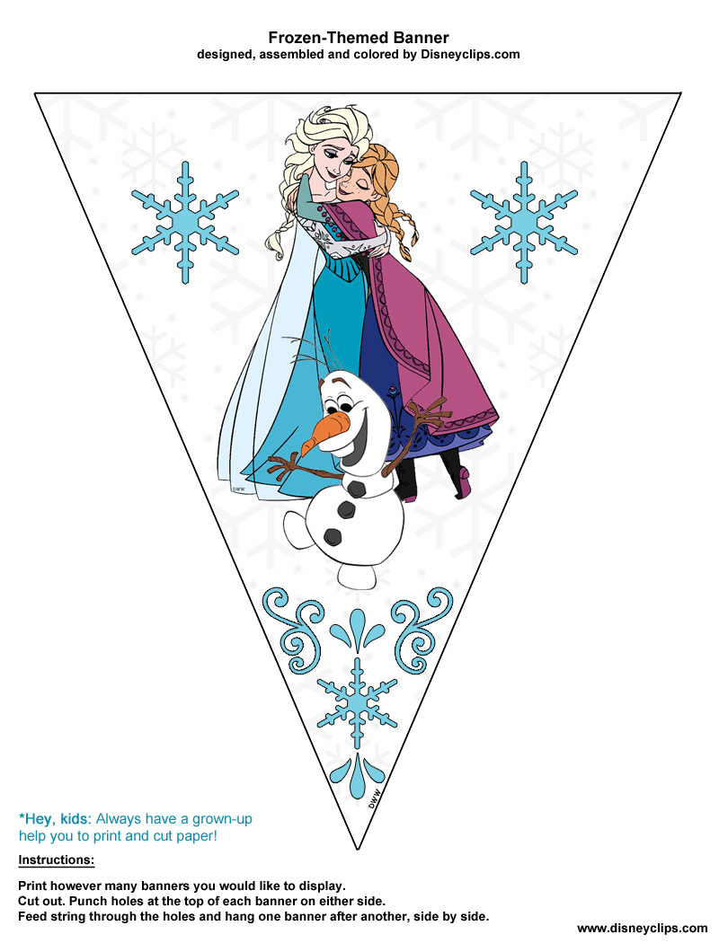 Disney Frozen Printables | Disney's World of Wonders