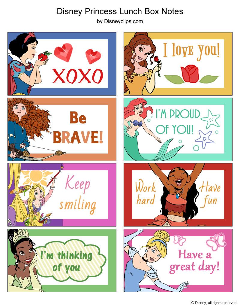 Disney Princess Printables Disneyclips