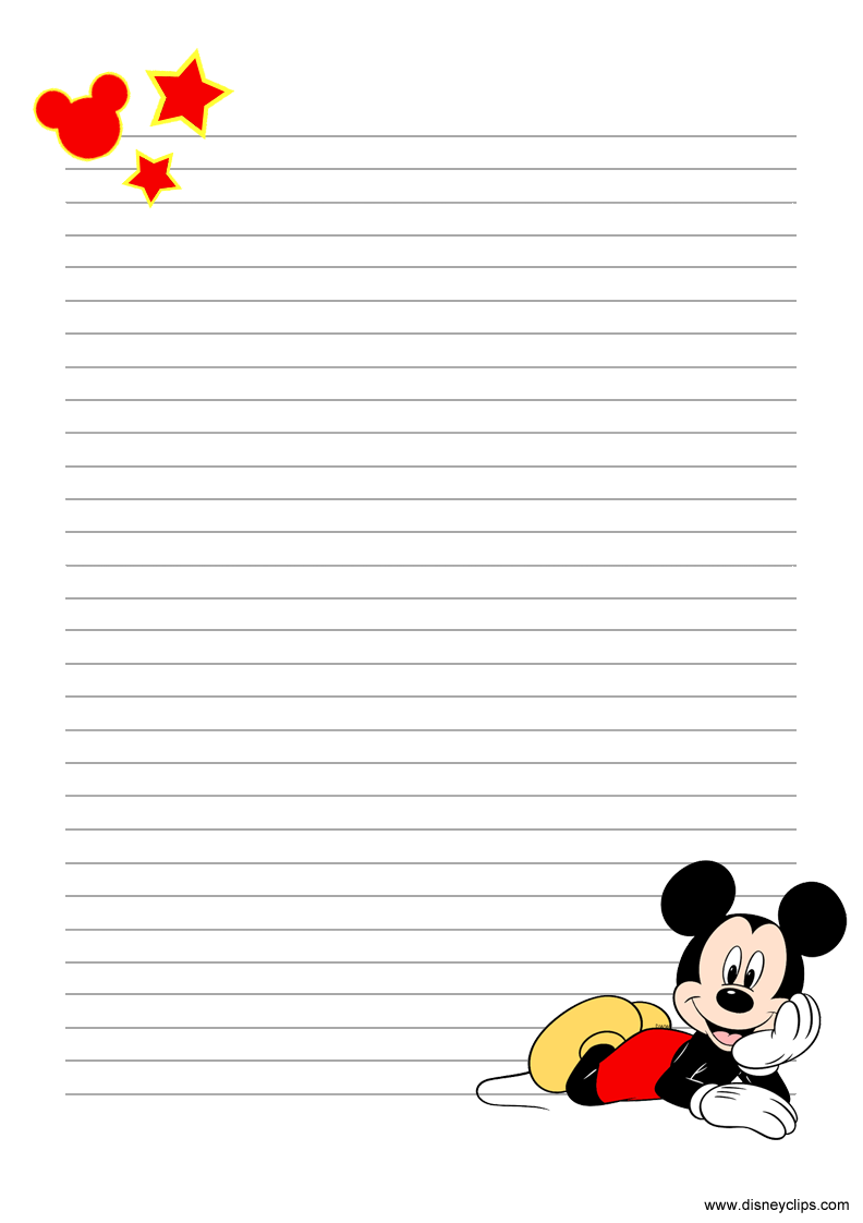 Mickey Mouse and Friends Printables Disneyclips
