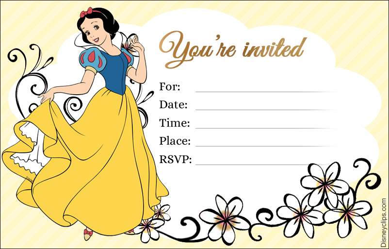 image regarding Snow White Printable named Disney Princess Snow White Printables