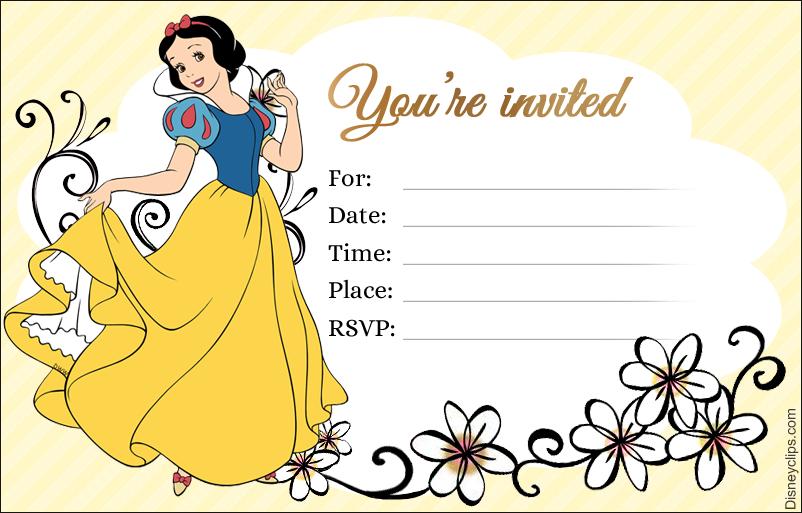 graphic regarding Snow White Printable called Disney Princess Snow White Printables