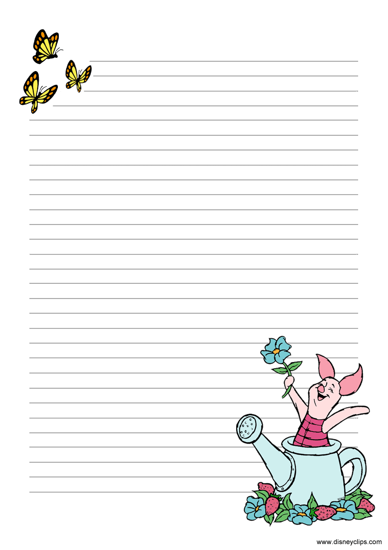 Winnie The Pooh And Friends Printables Disneyclips Com